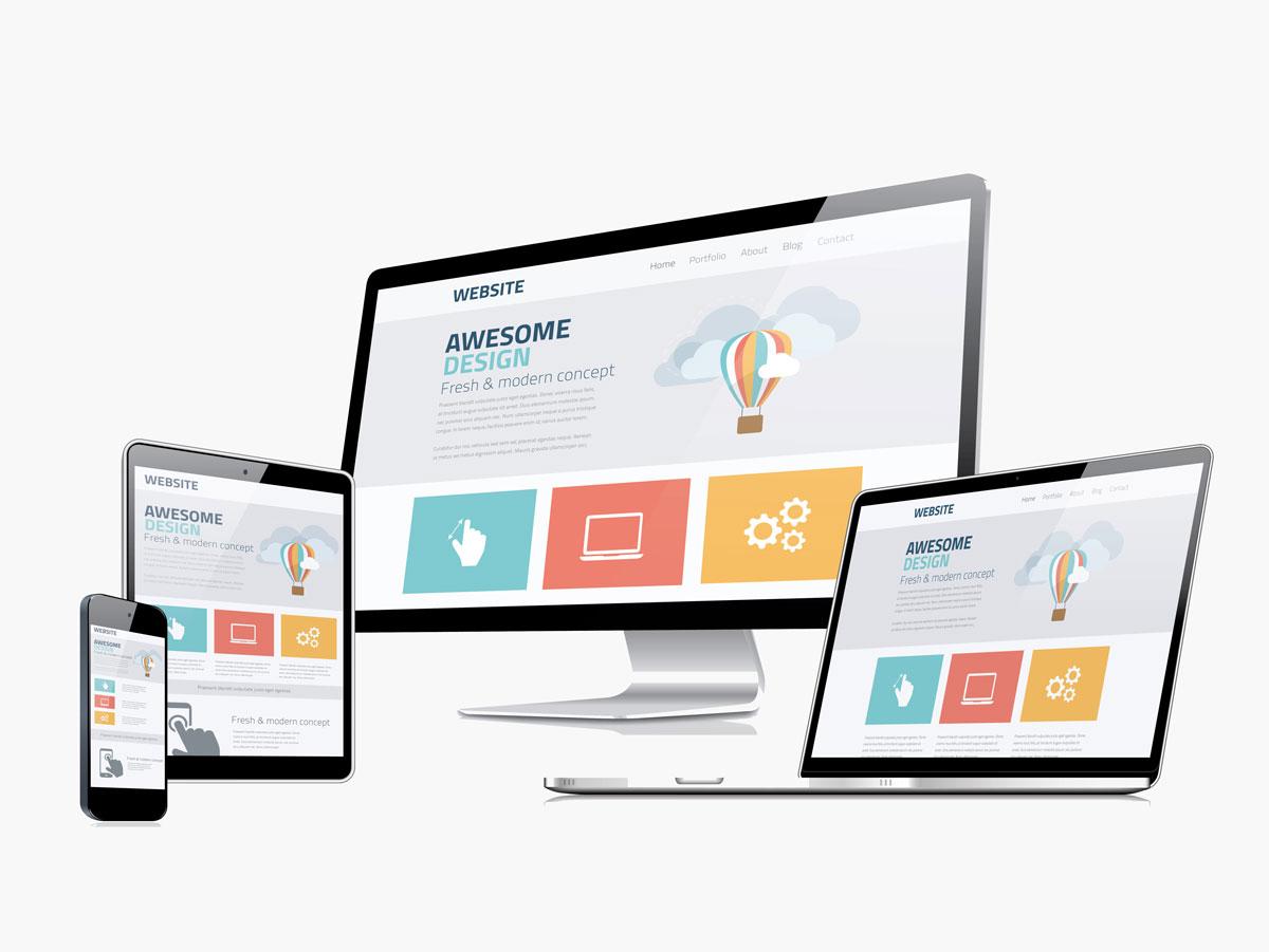 Responsive Webdesign Retinafaehig
